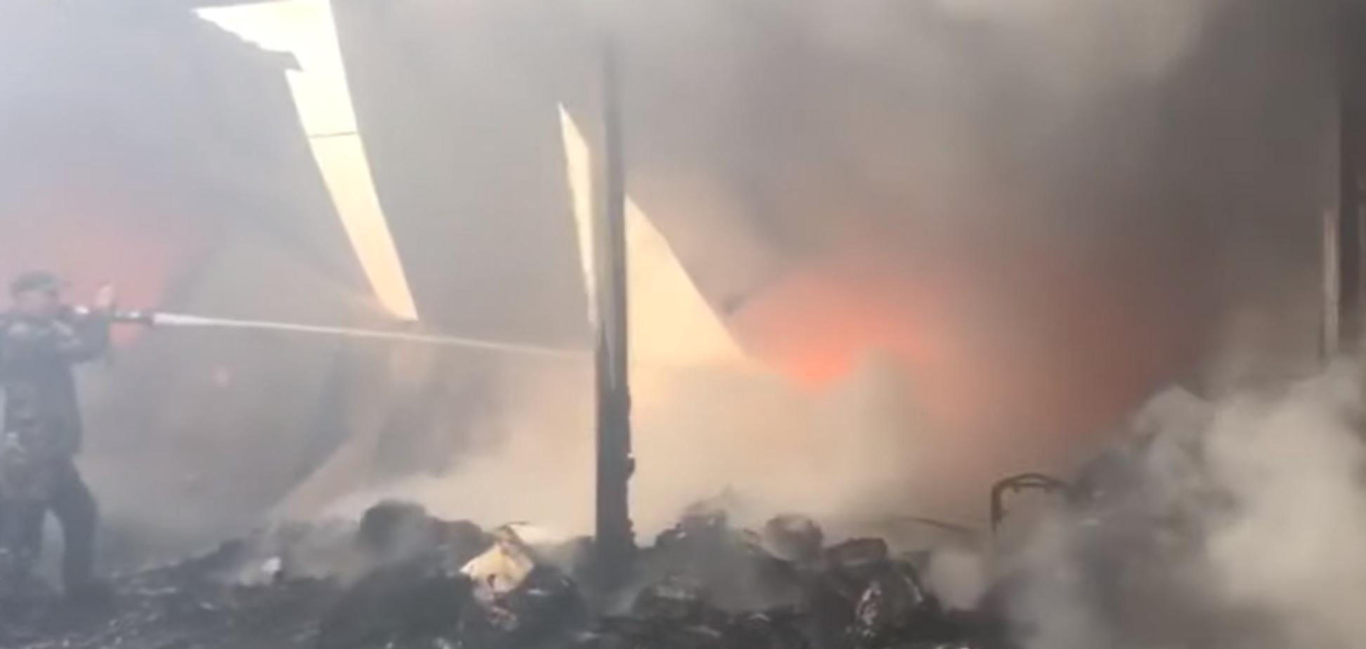 Под Баку вспыхнул крупнейший торговый центр 'Садарак': все детали