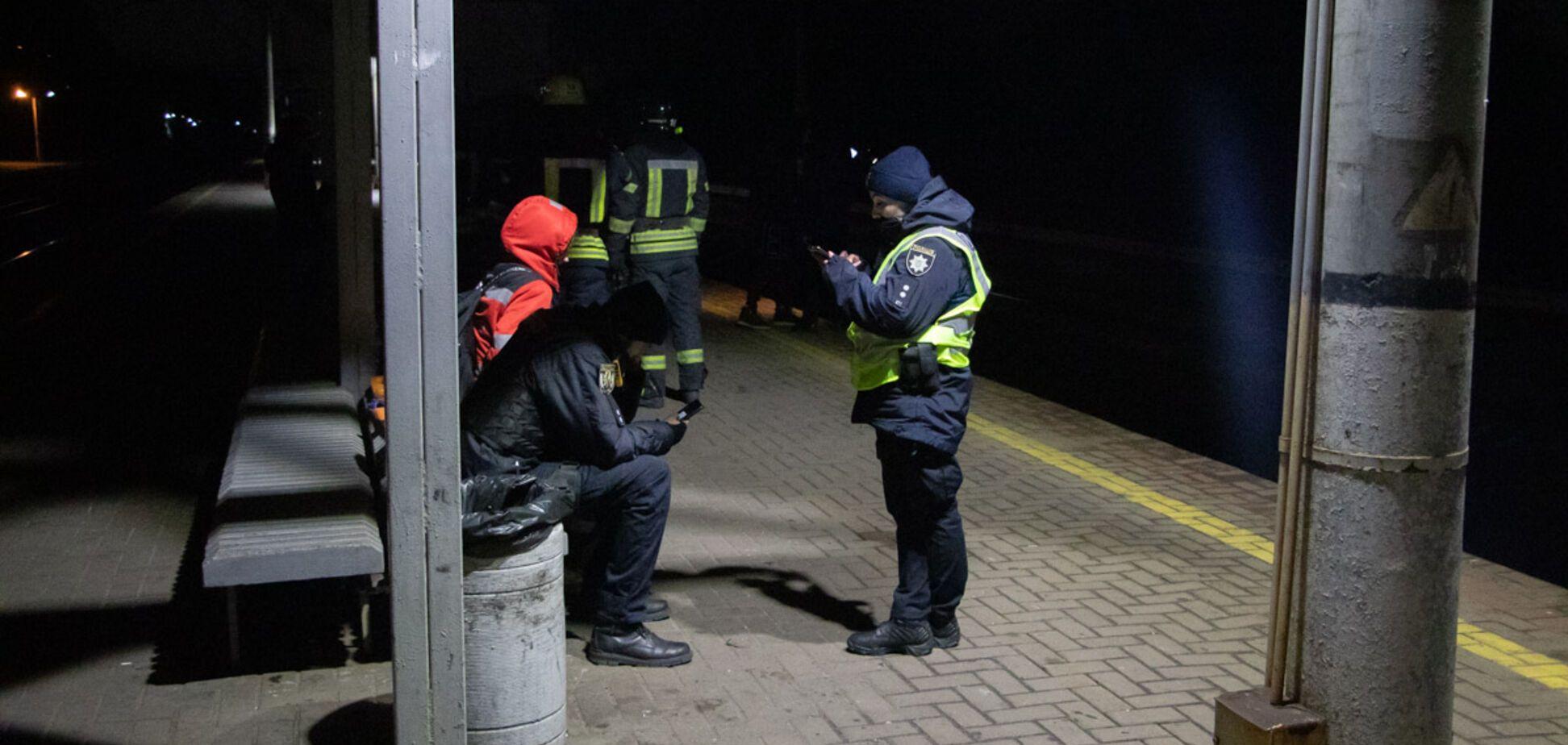 В Киеве на Караваевых дачах нашли тело в разорванной куртке