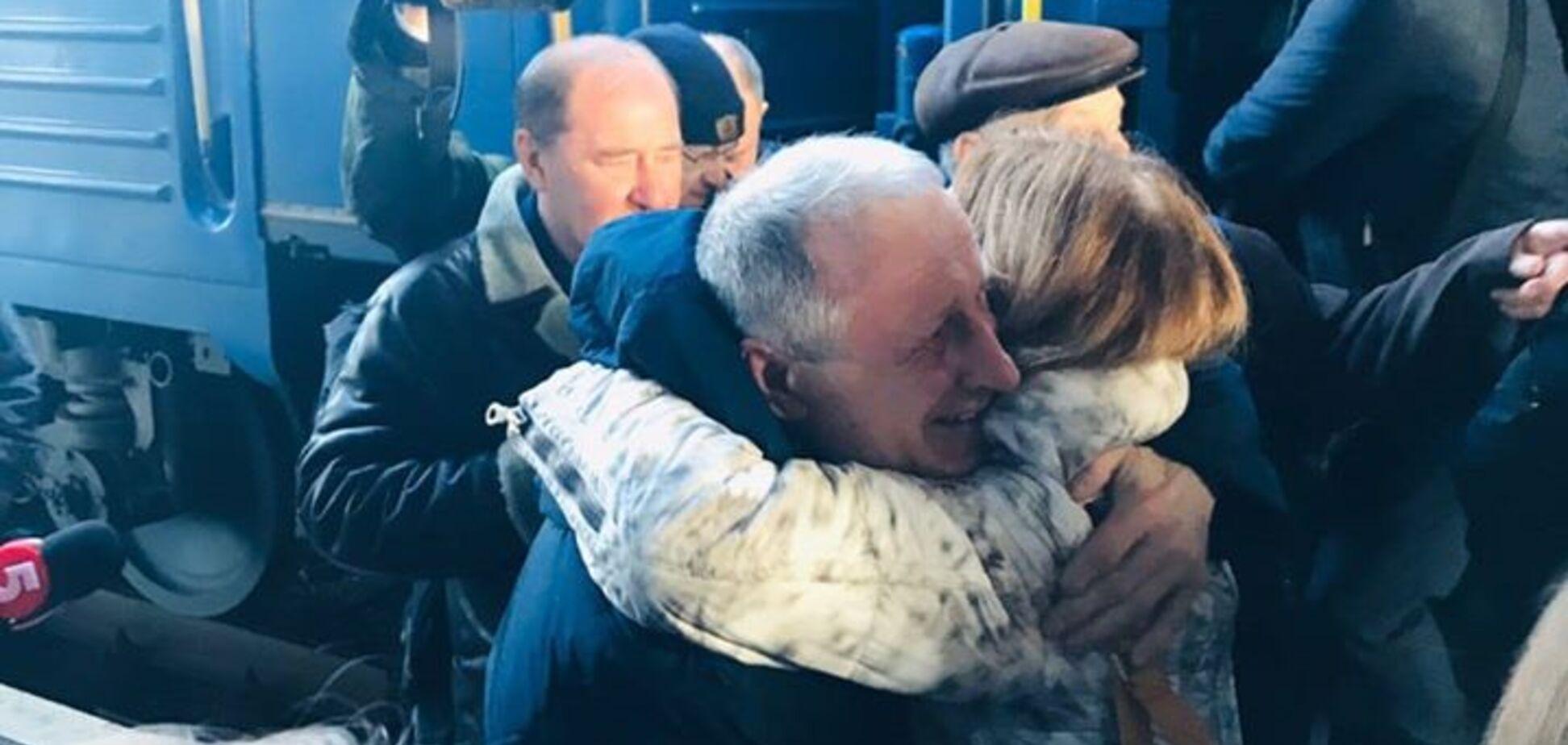 Засуджений окупантами Криму журналіст Семена приїхав до Києва