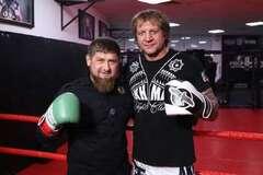 Рамзан Кадиров і Олександр Ємельяненко