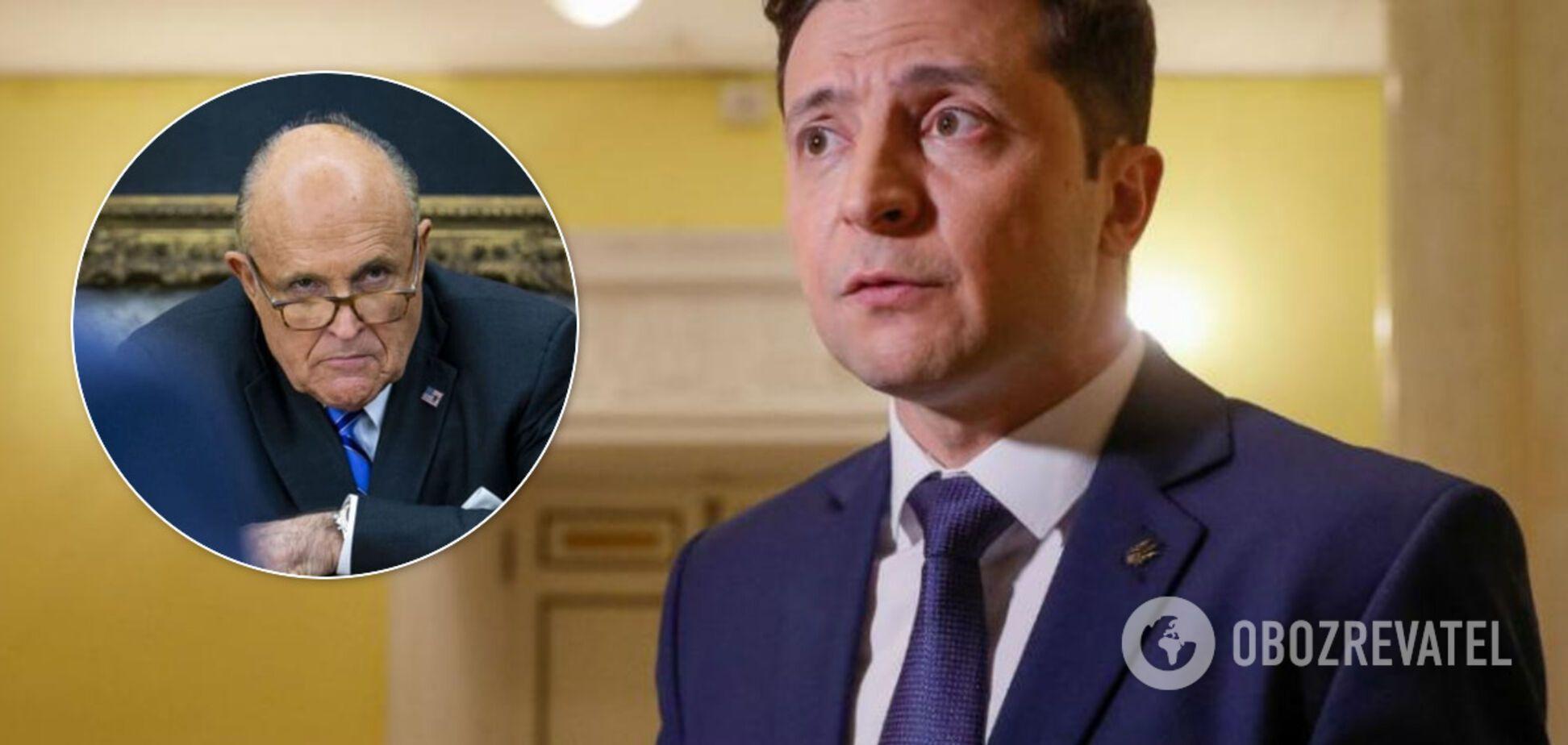 Зеленский решил избегать адвоката Трампа – CNN