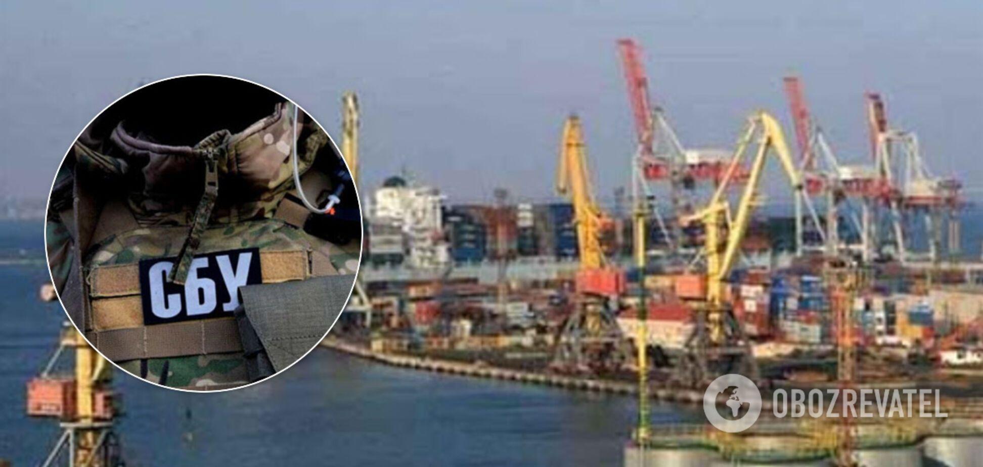 В Одесский морпорт и АМПУ нагрянули с обысками