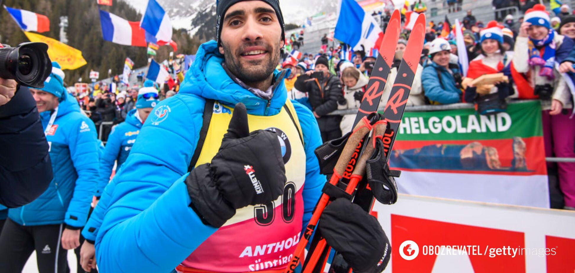 'Пишаюся поверненням': Фуркад прокоментував перемогу на чемпіонаті світу з біатлону