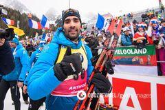 'Горжусь возвращением': Фуркад прокомментировал победу на чемпионате мира по биатлону