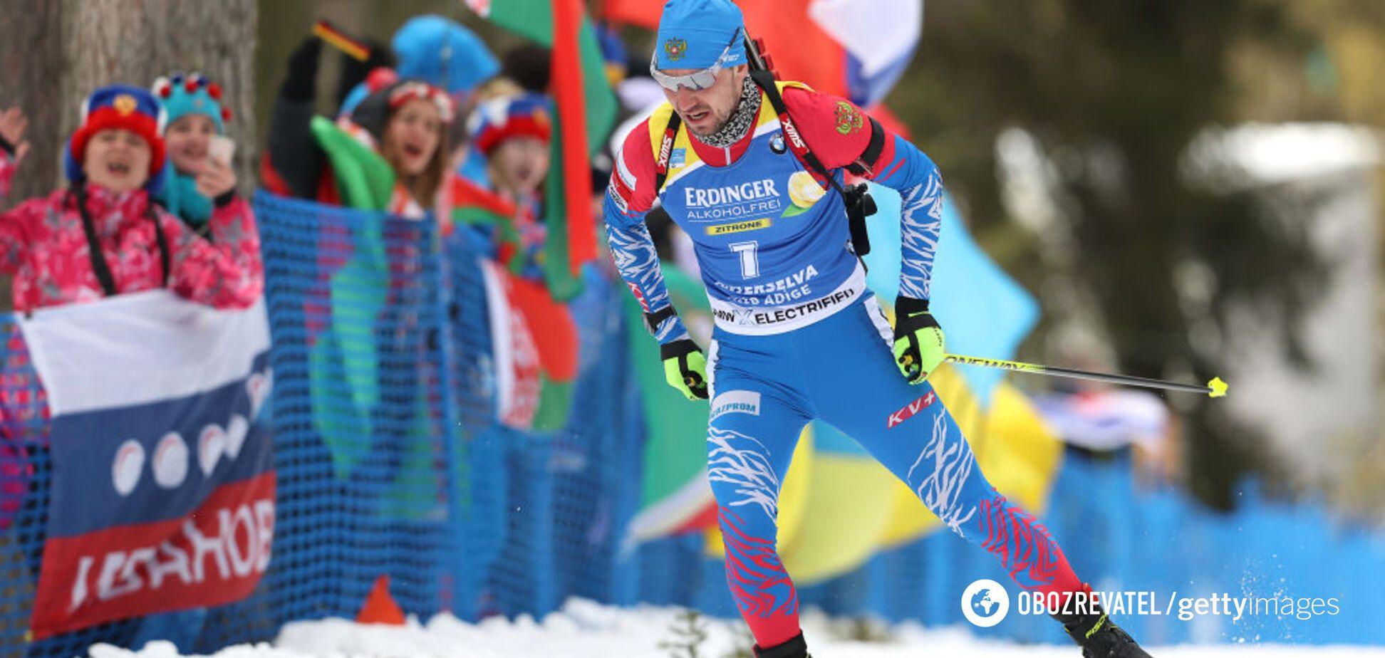 Лидера сборной России освистали на чемпионате мира по биатлону