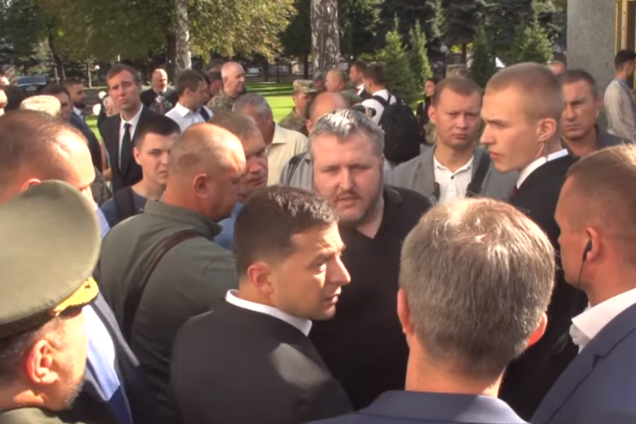 Майор ВСУ Ковалев и Зеленский