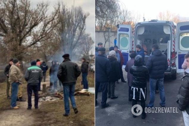 Украинцев возмутили протесты против людей из Китая