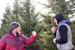 Кадиров на вулиці вдарив Ємельяненка - опубліковано відео