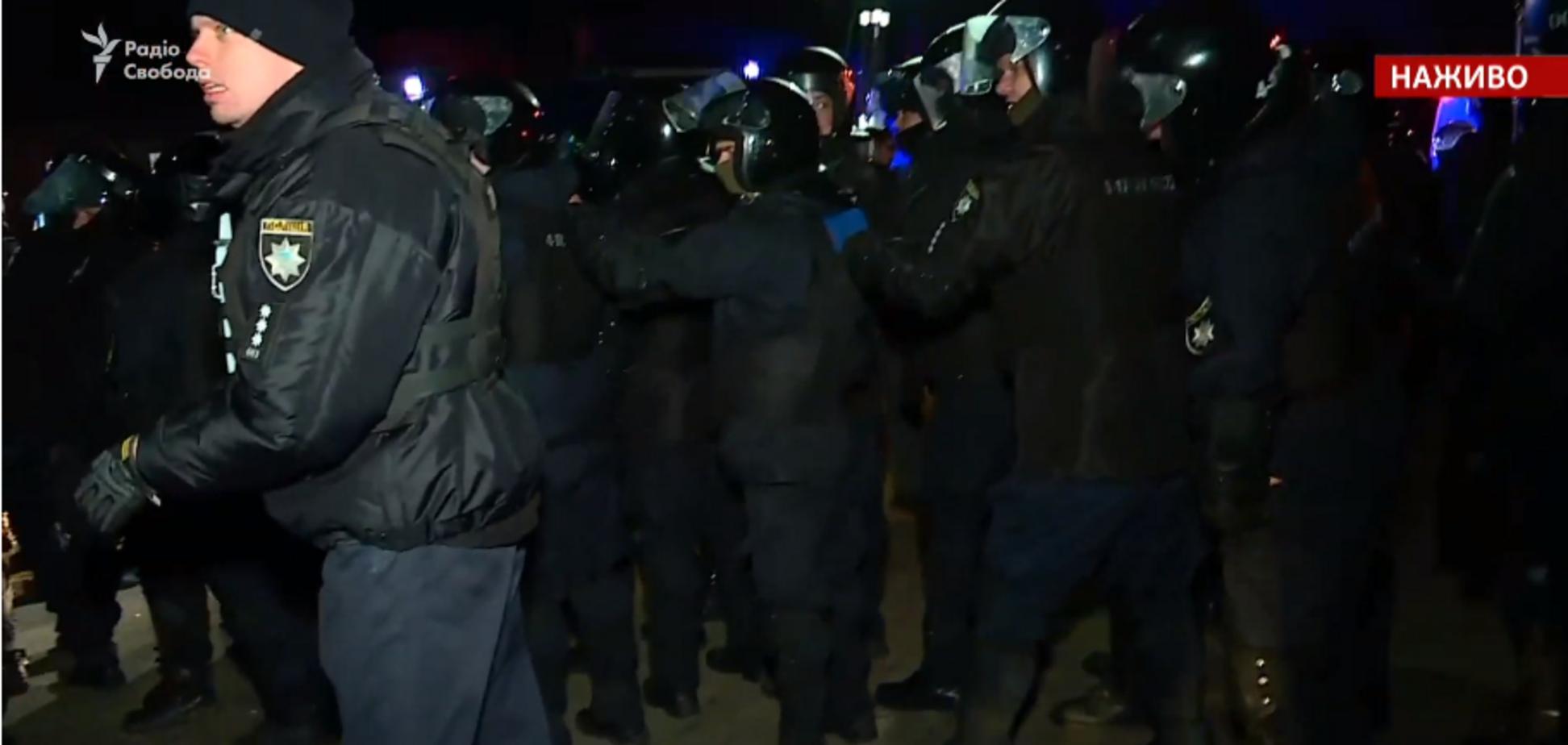 Сутички в Нових Санжарах: поліція назвала кількість потерпілих і завела справу