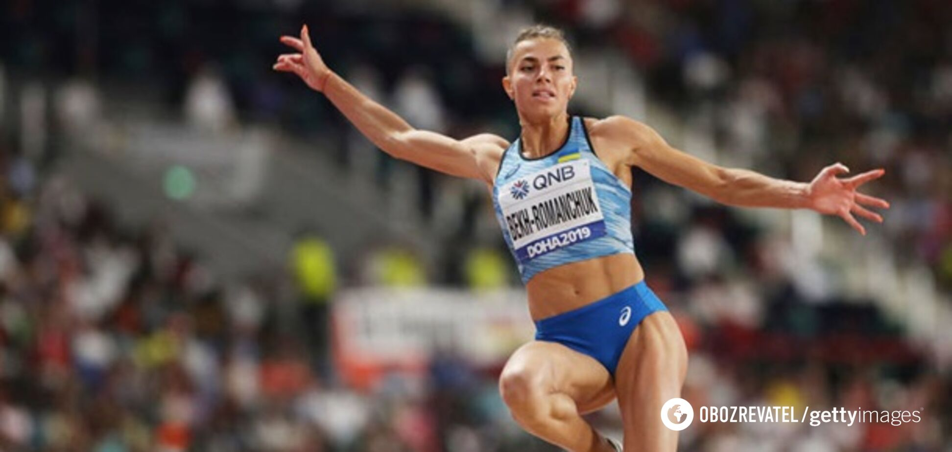 Неперевершена українка Бех стала чемпіонкою престижних змагань з легкої атлетики