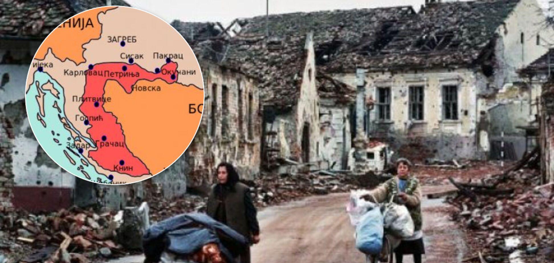 Патрулировать с россиянами и боевиками: почему 'хорватский сценарий' не сработает в Украине