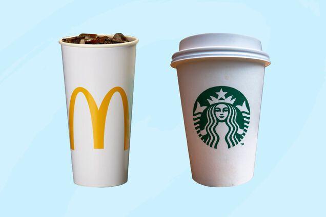"""McDonald's і Starbucks перейдуть на """"розумні"""" стаканчики з датчиками стеження"""