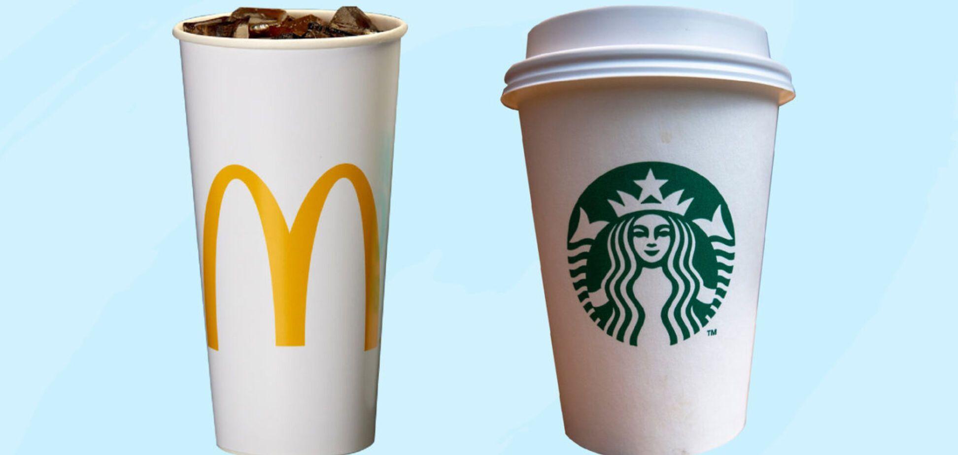 McDonald's і Starbucks перейдуть на 'розумні' стаканчики з датчиками стеження