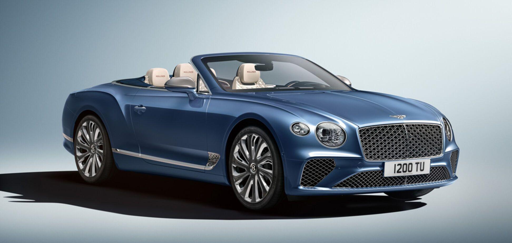 У Bentley Continental GT появится новая открытая версия