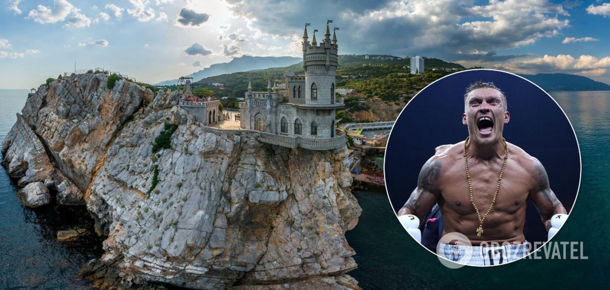 Відомий режисер підтримав Усика, що поїхав до Криму