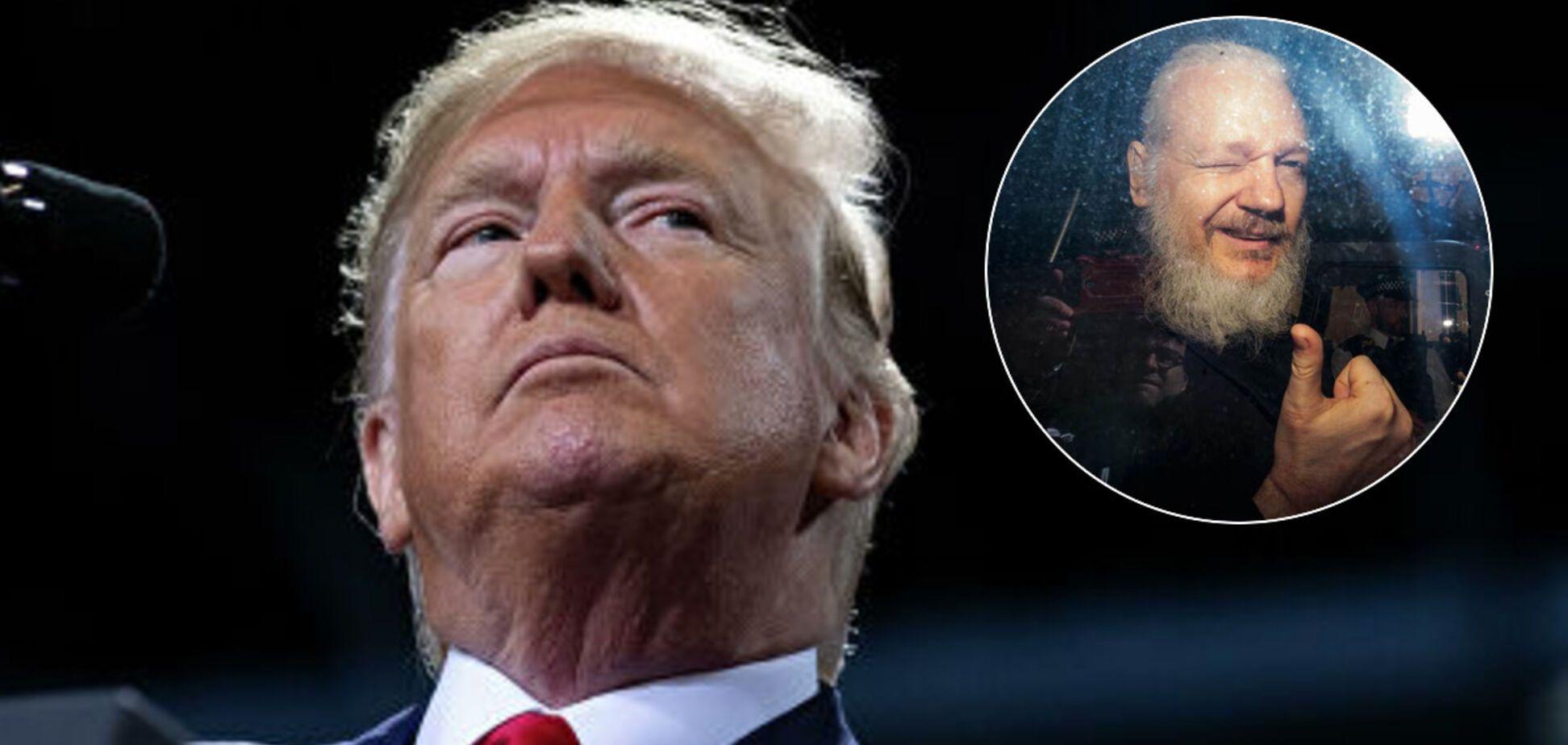 Спливла обіцянка Трампа помилувати Ассанджа через Росію: Білий дім назвав це 'нісенітницею'