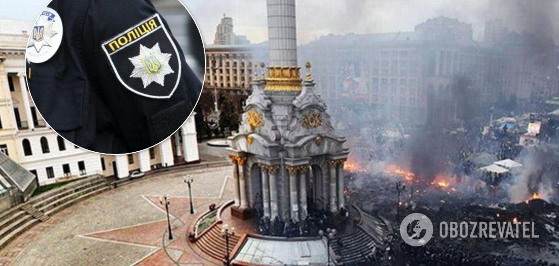 В центр Киева в годовщину расстрелов на Майдане стянули силовиков