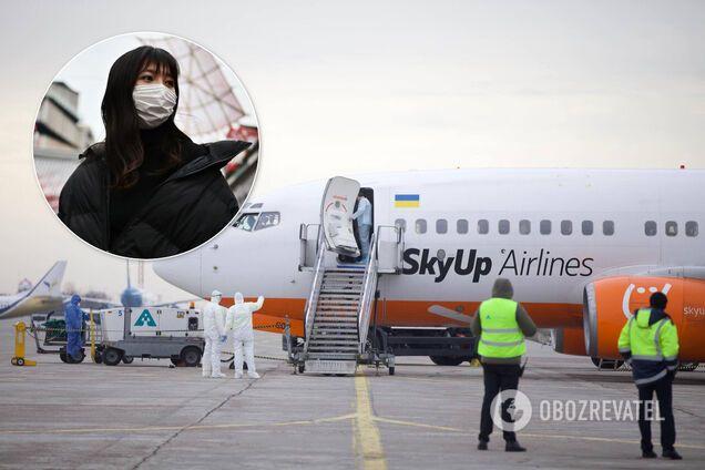 Казашку не пустили на український лайнер для евакуації з Китаю