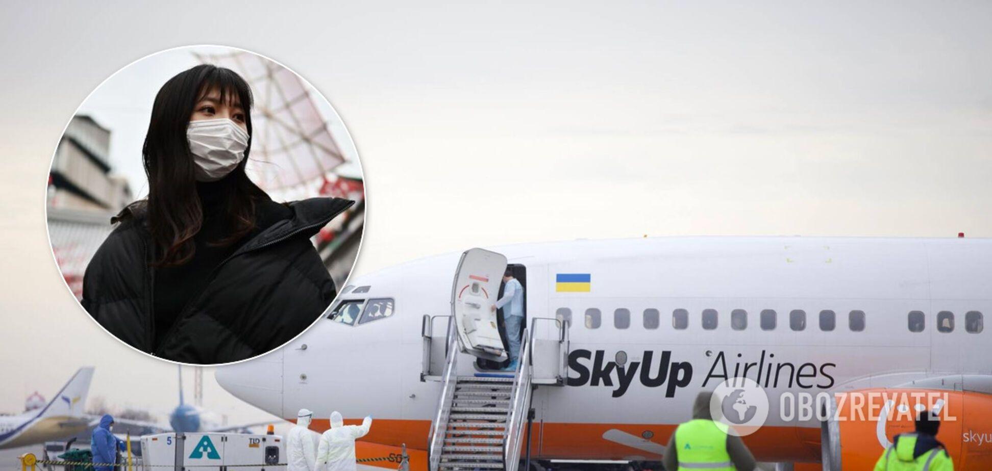 Не пустили через температуру: з'ясувалися деталі евакуації українців із Китаю
