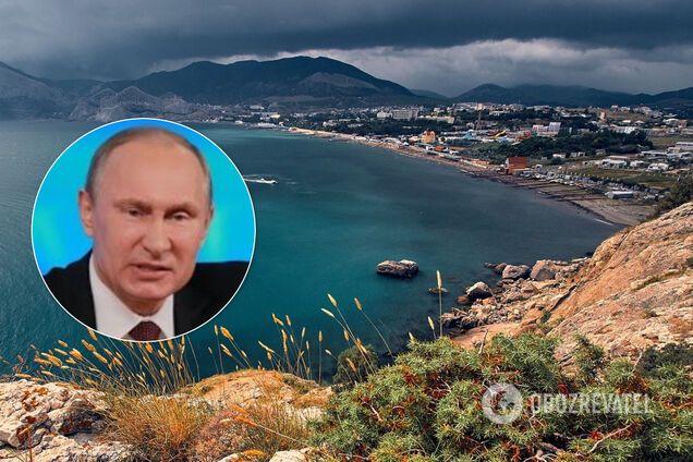 Владимир Путин, Крым, коллаж