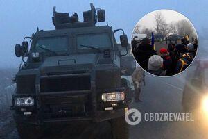 Блокують дороги, стягнули бронетехніку: на Полтавщині влаштували бунт проти українців із Уханя