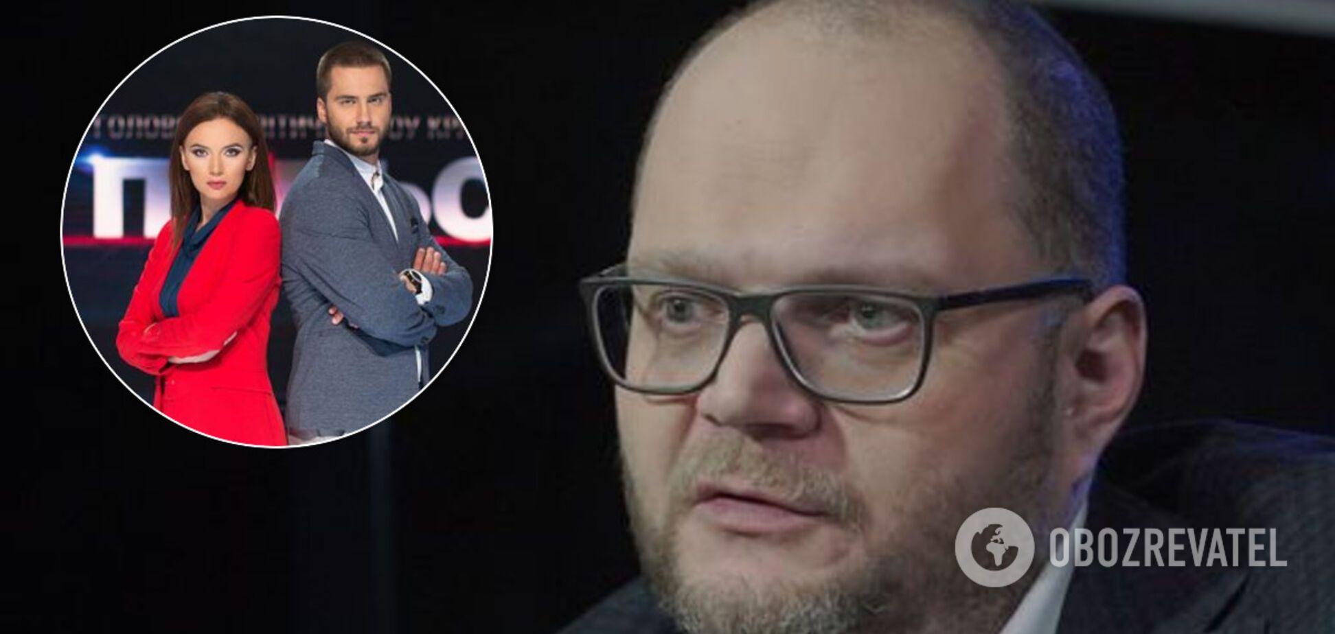 Бородянский открестился от скандала с ведущими '112 Украина' на канале для ОРДЛО