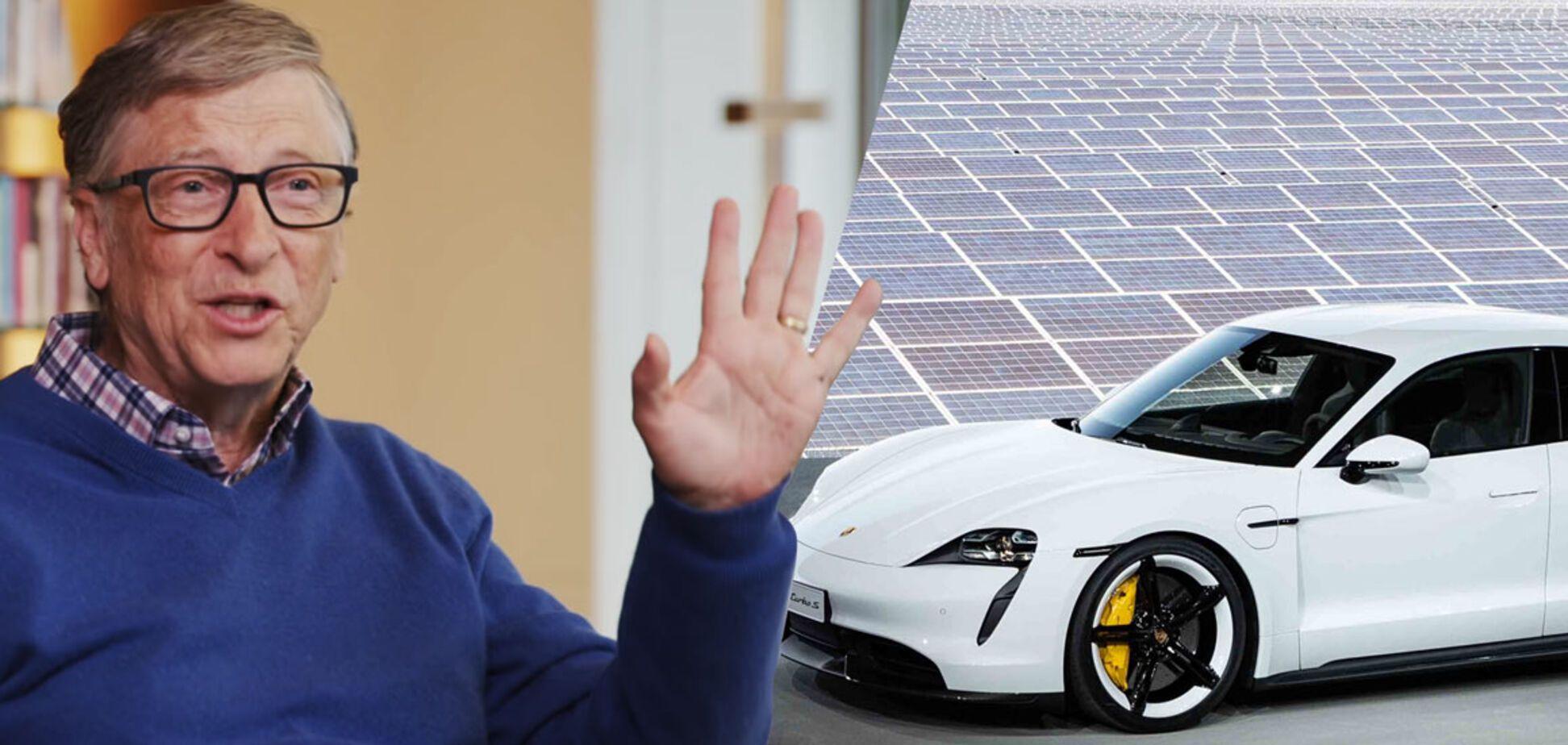 Почему Билл Гейтс выбрал электрокар Porsche вместо Tesla: раскрыта загадка