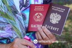 Паспорти Росії на Донбасі: окупанти вдалися до цинічних дій
