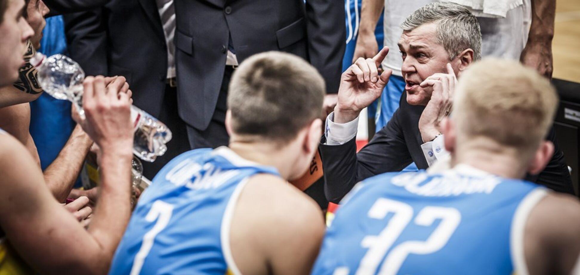 Багатскис прокомментировал победу сборной Украины над Австрией в отборе к Евробаскету-2021
