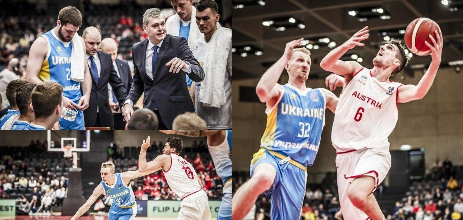 Україна перемогою стартувала у відборі Євробаскету-2021
