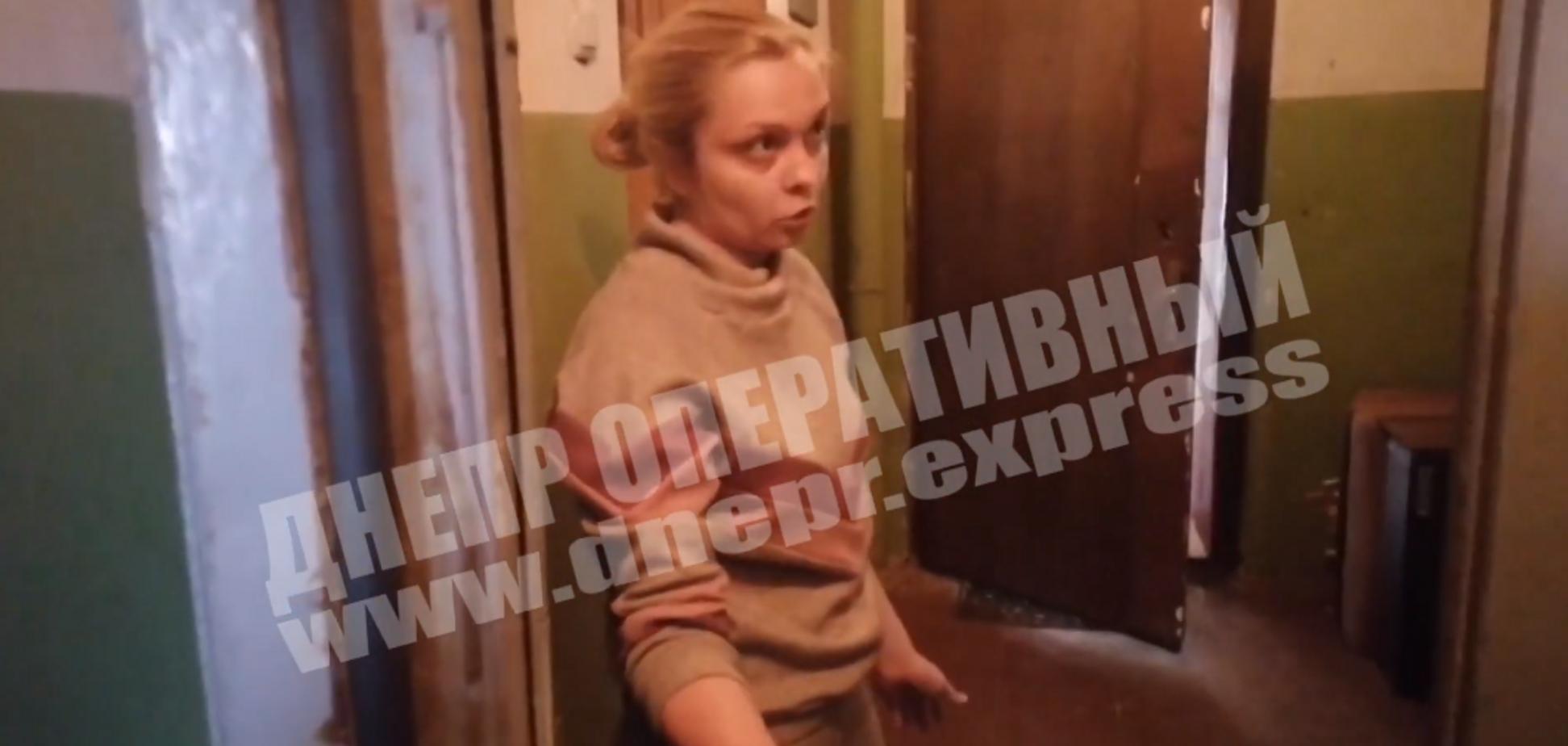 'Всех взорву!' В Днепре ревнивый мужчина устроил террор бывшей жене. Видео