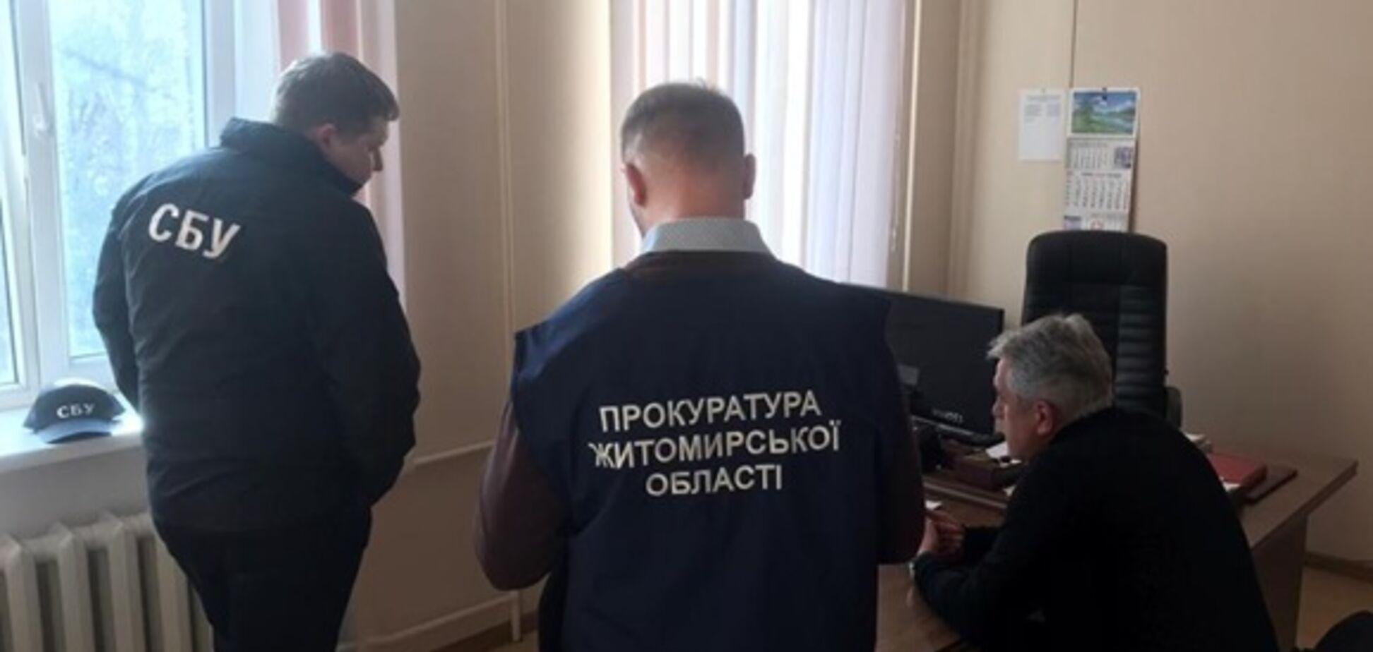 На Житомирской таможне завели уголовное дело в отношении и.о. начальника