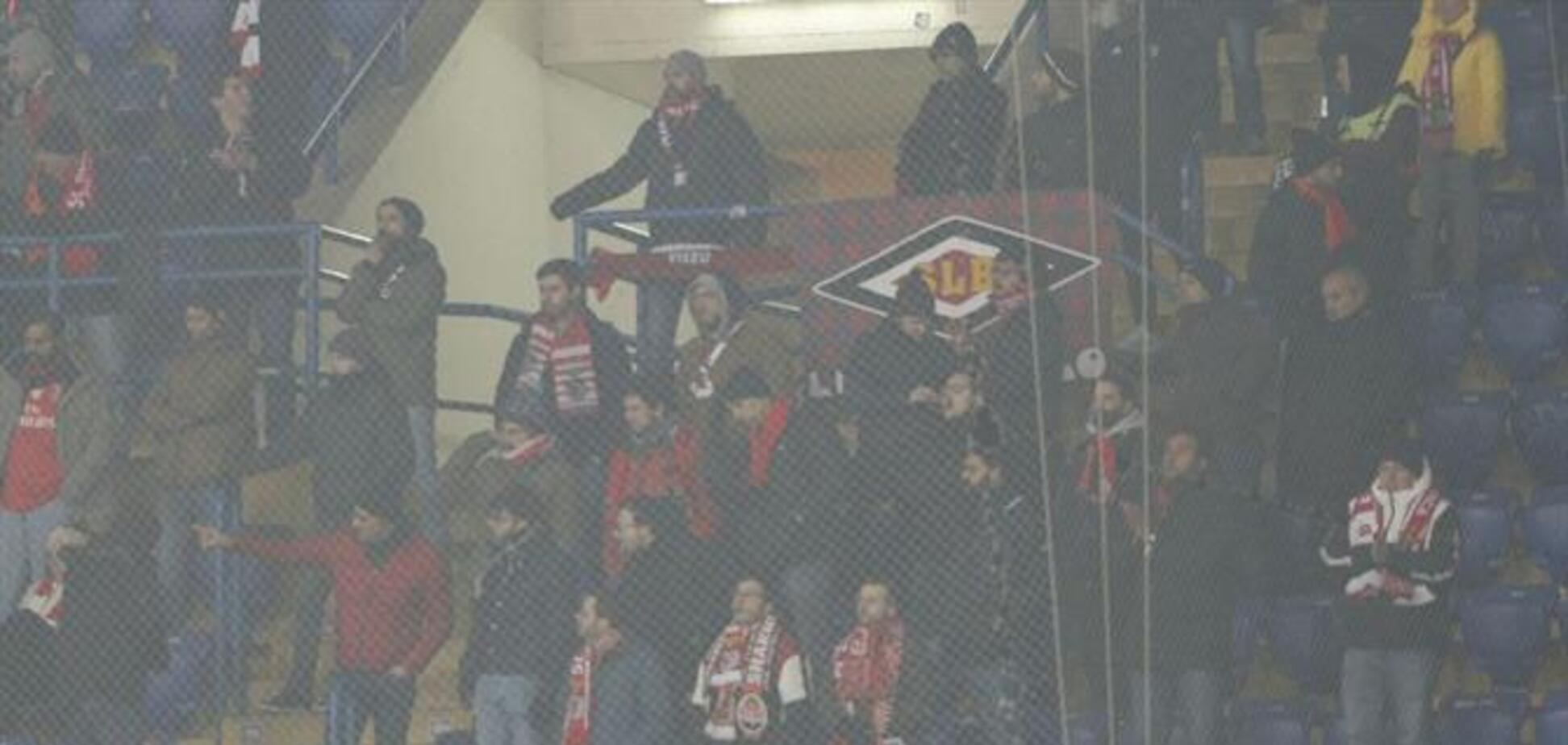 Португальские фанаты подверглись нападению в Харькове на матче с 'Шахтером'