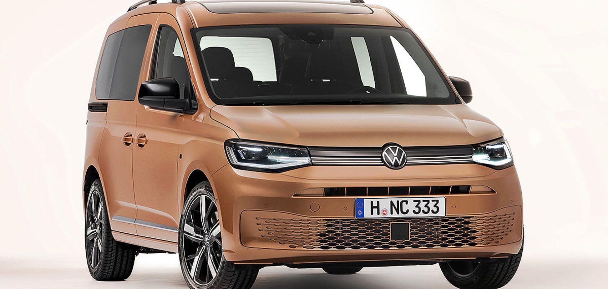 Похож на электромобиль ID.3: представлен новый VW Caddy 2021