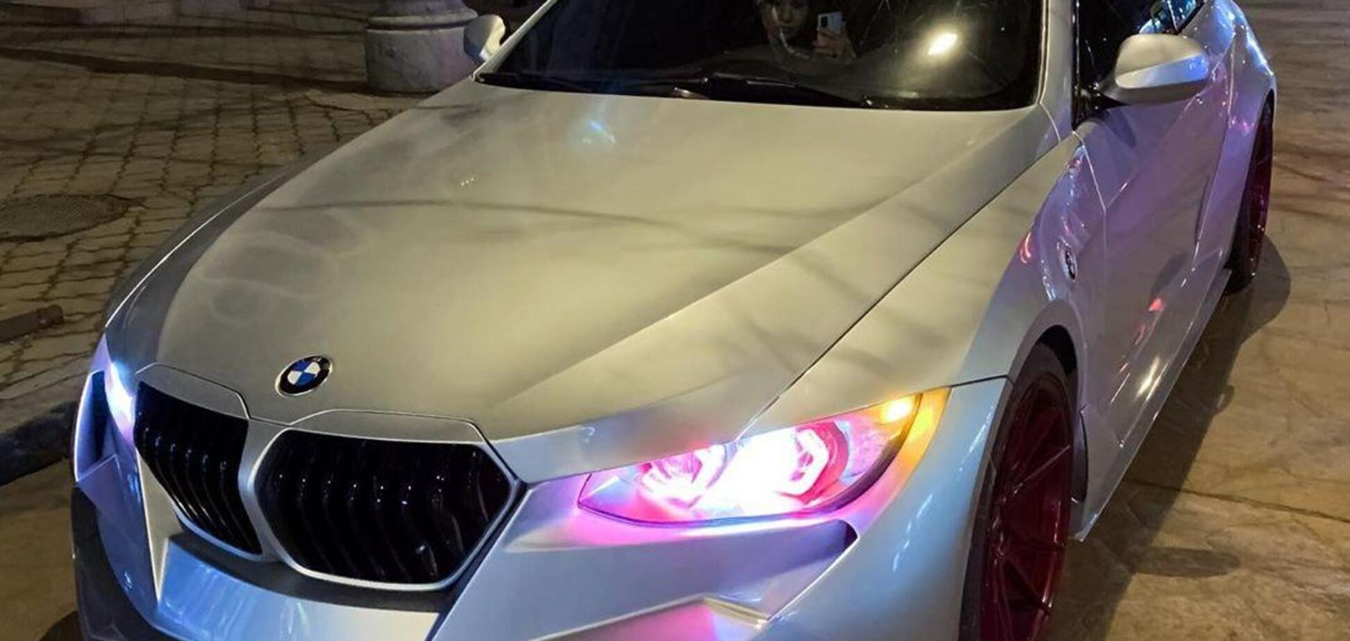 В Украине засняли невероятную BMW 'из будущего'. Фото