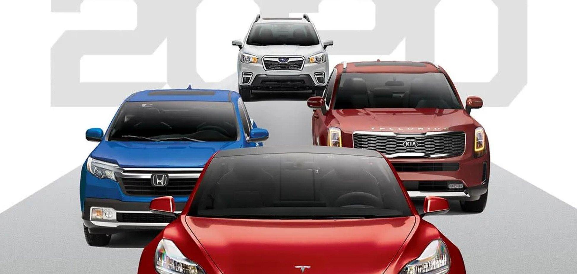Названы 10 лучших авто сегодняшнего дня