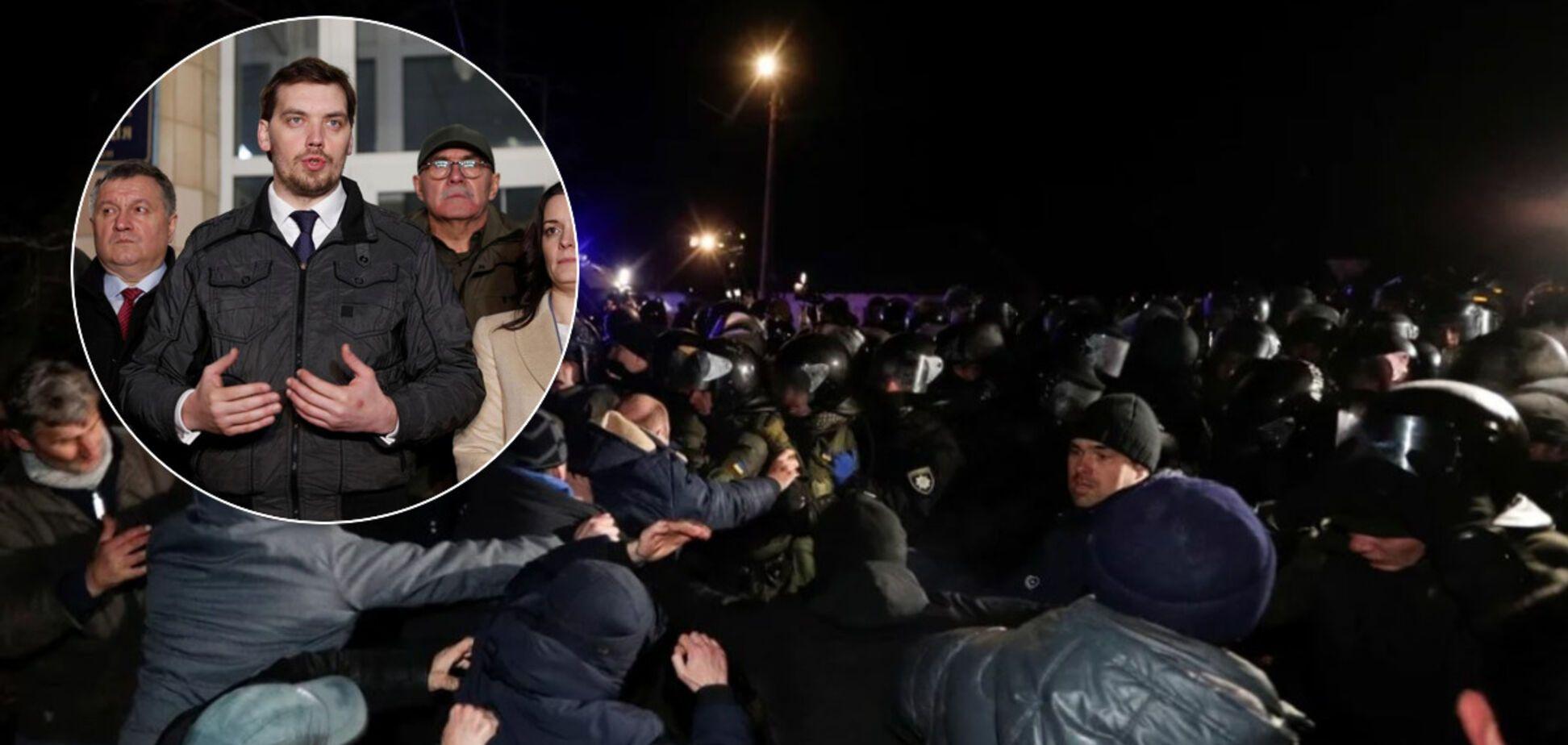 Пиар на коронавирусе: как украинские власти довели Новые Санжары до паники