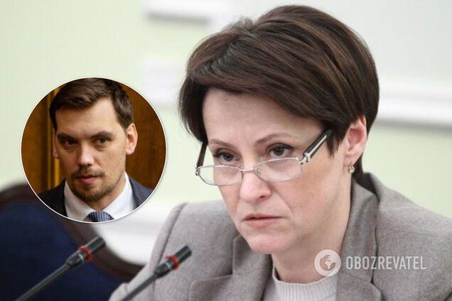 """""""Держава під загрозою"""": Южаніна розкритикувала звіт Гончарука"""