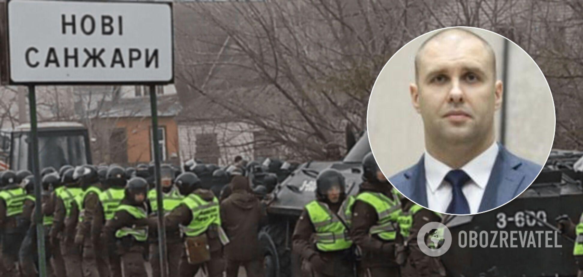 Очільник Полтавщини сказав, хто стоїть за провокаціями в Нових Санжарах