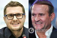 Медведчук пояснив, чому подав руку Баканову в Раді. Відео