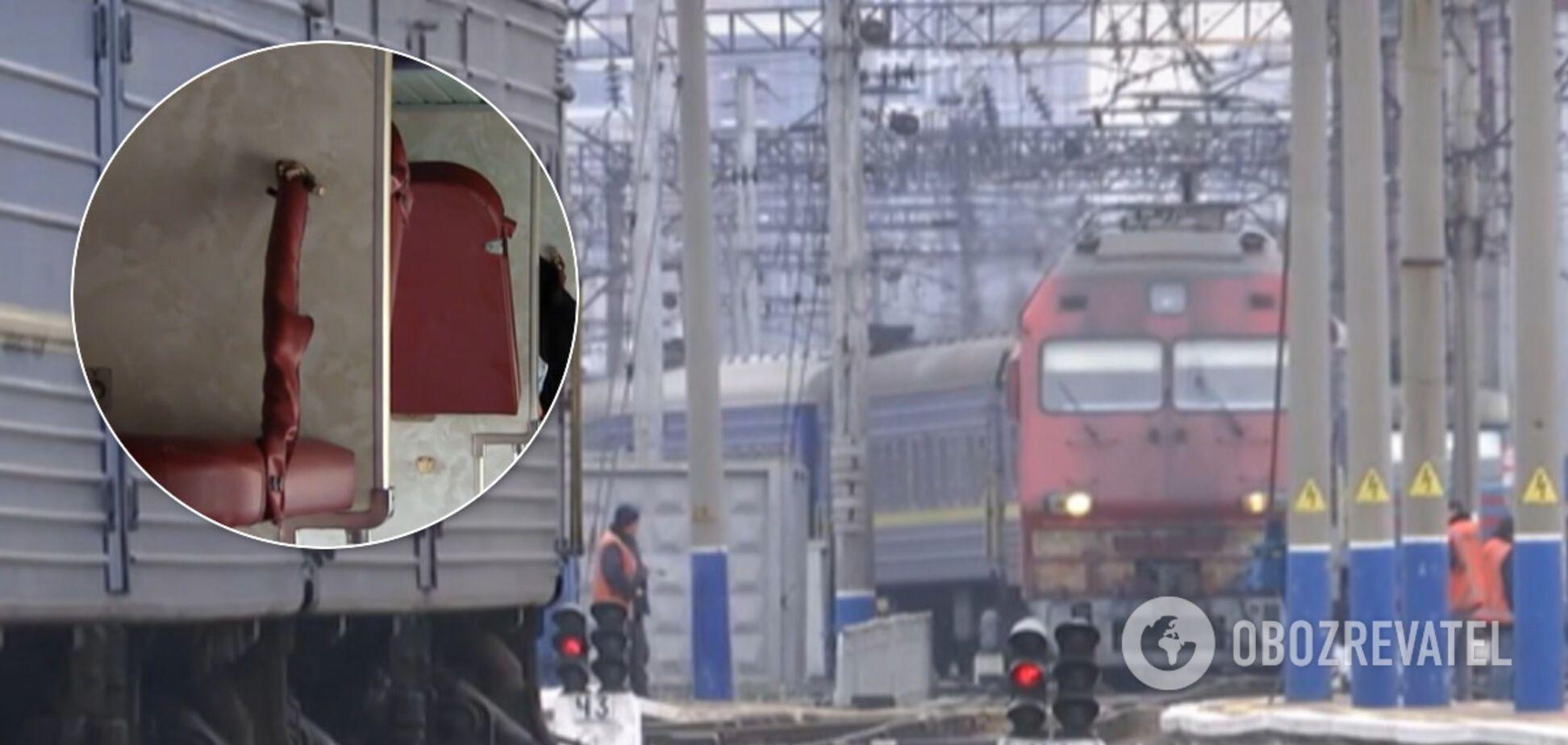 В поезде 'Укрзалізниці' женщину чуть не убила полка: появились данные о ее состоянии