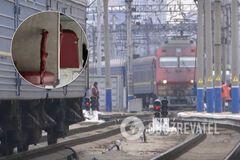 У поїзді 'Укрзалізниці' жінку ледь не вбила полиця: з'явилися дані про її стан