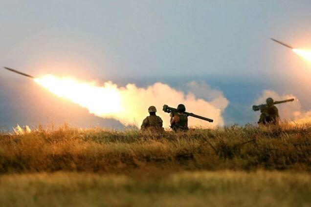 Війна на Донбасі. Ілюстрація