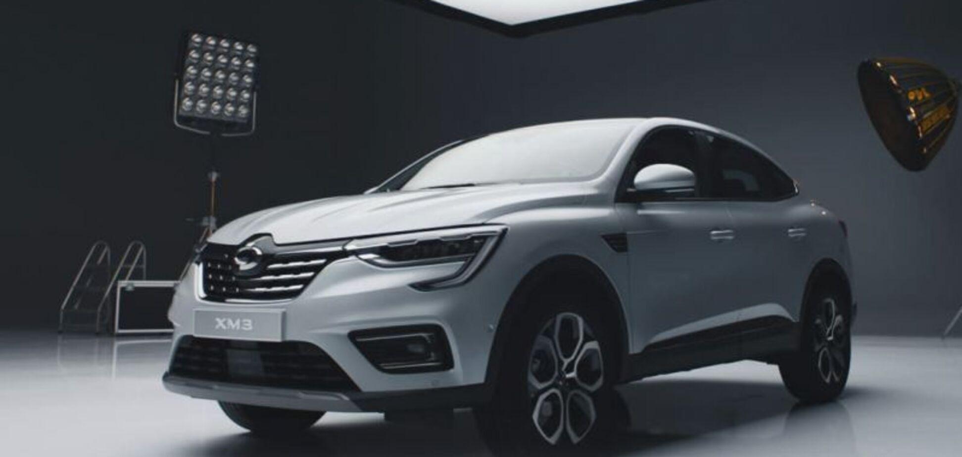 Дешёвый кроссовер Renault превратился в Samsung