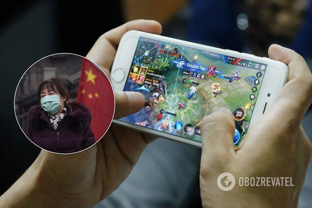 Мобильные игры в Китае