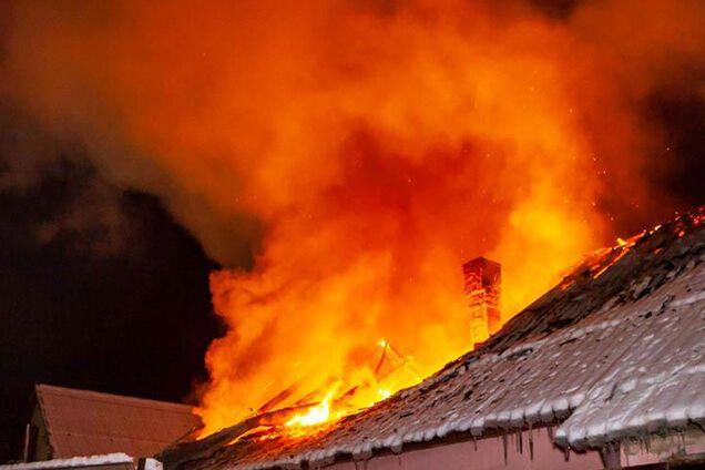 Пожар на улице Солончаковой