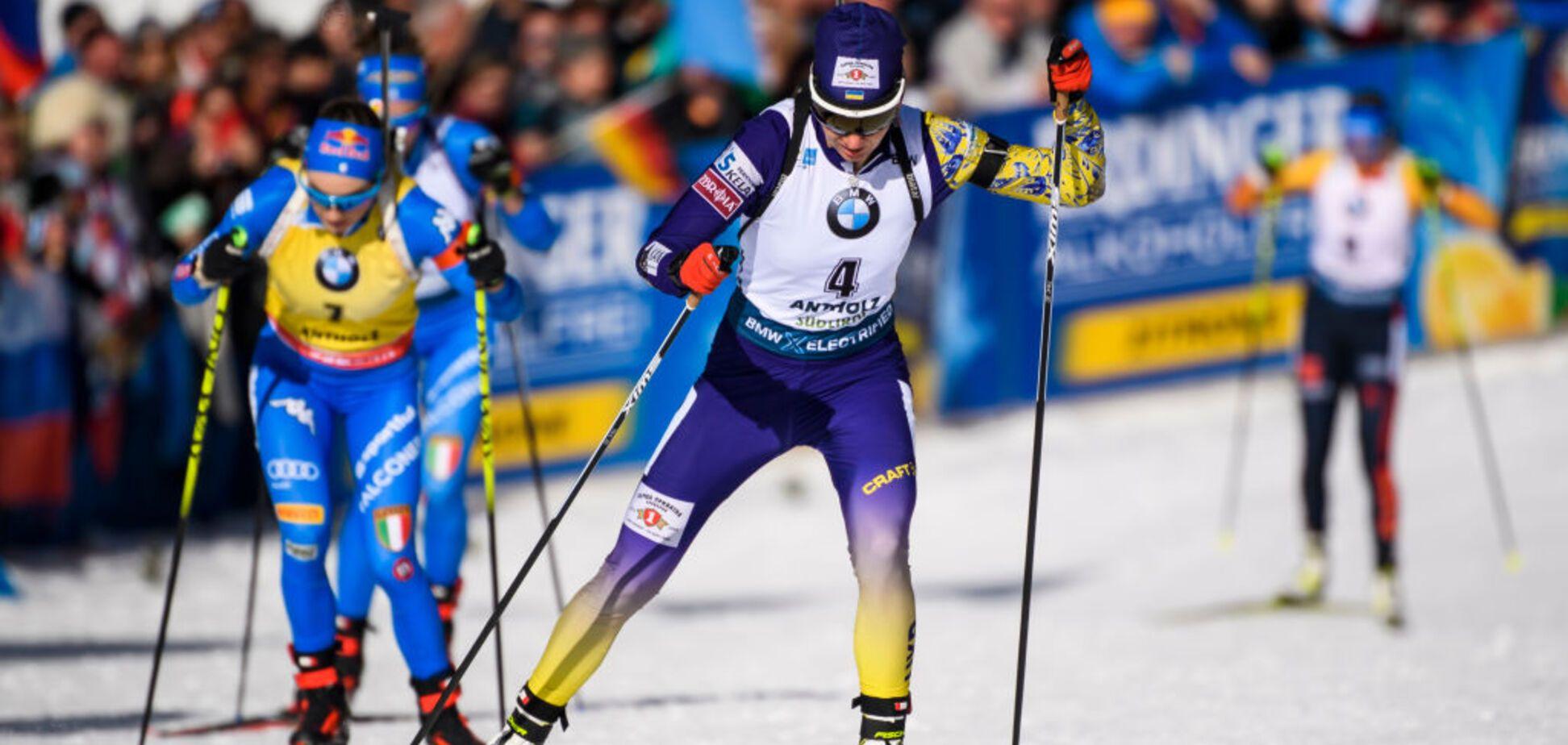 Украина завоевала первую медаль на чемпионате мира по биатлону