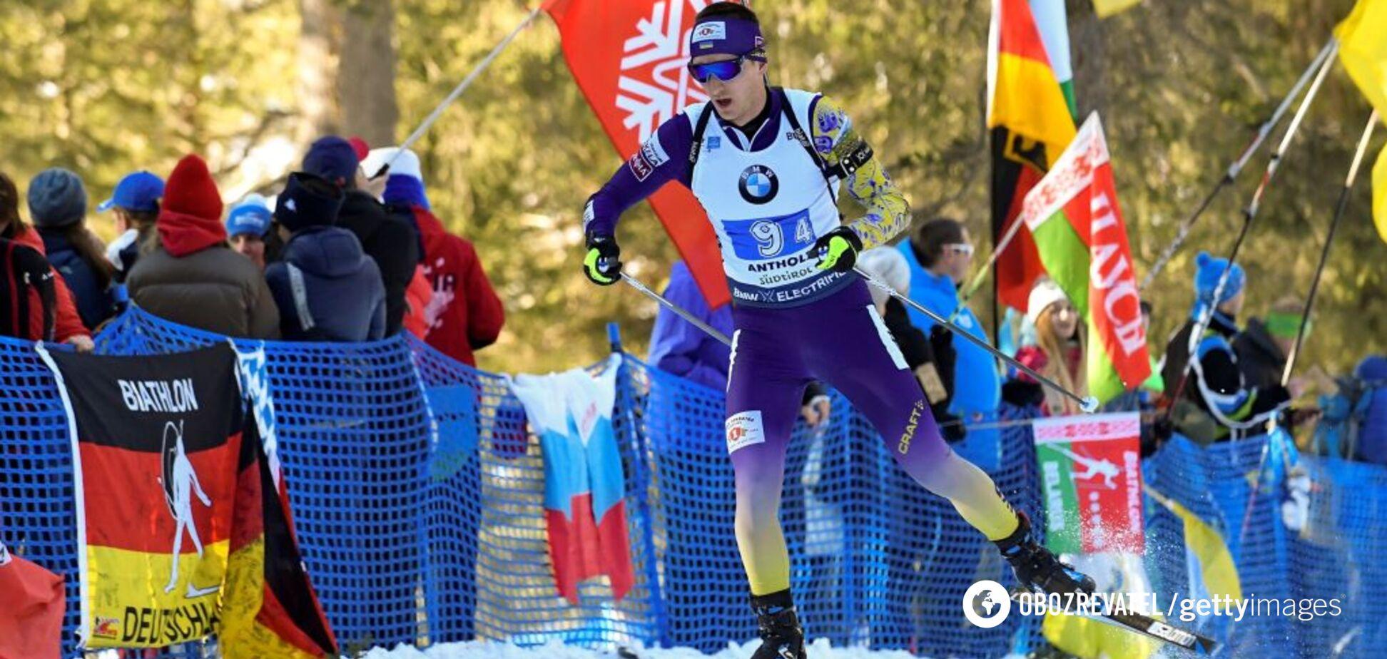 Пидручный прокомментировал провал сборной Украины в эстафете чемпионата мира по биатлону