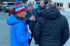 У тренера сборной России на чемпионате мира по биатлону оказалась украинская аккредитация