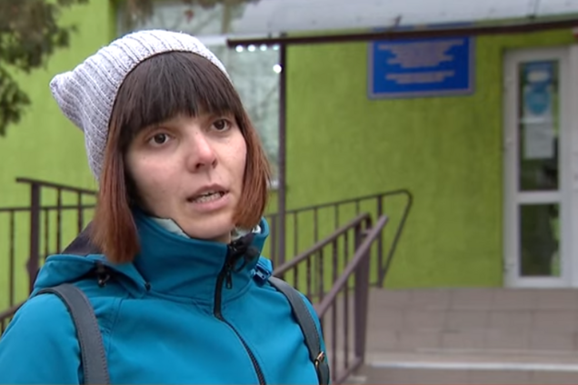 Под Киевом врач угодила в языковой скандал